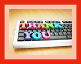 thank you keyboard